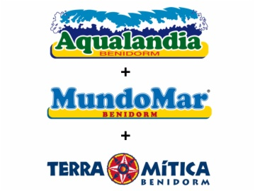 Ticket for Mundomar, Aqualandia and Terra Mitica